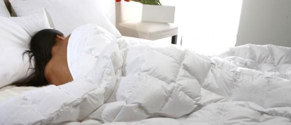 Daunenstep-Bett
