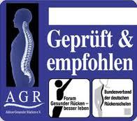 AGR Abzeichen für Metzeler Matratzen